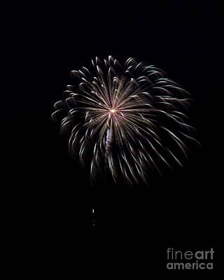 Photograph - Rvr Fireworks 10 by Mark Dodd