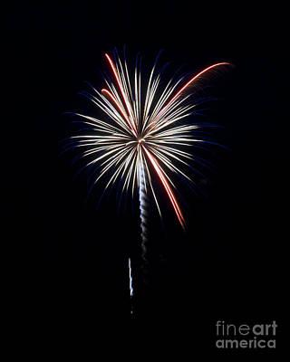 Photograph - Rvr Fireworks 11 by Mark Dodd