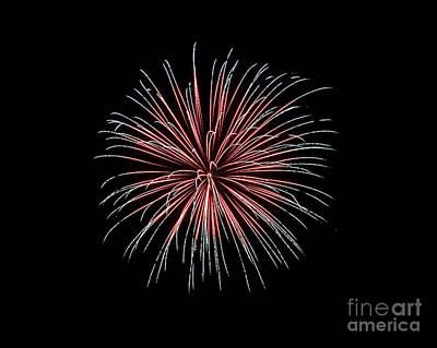 Photograph - Rvr Fireworks 12 by Mark Dodd