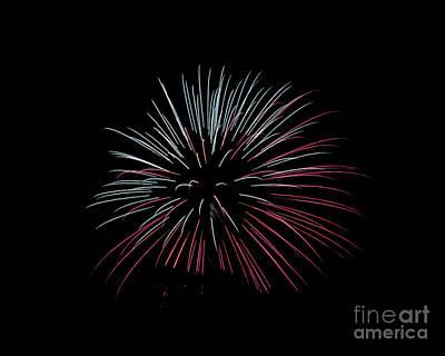 Photograph - Rvr Fireworks 15 by Mark Dodd