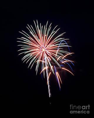 Photograph - Rvr Fireworks 16 by Mark Dodd