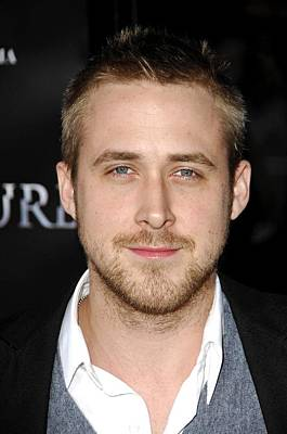 Ryan Gosling Photograph - Ryan Gosling At Arrivals For Fracture by Everett
