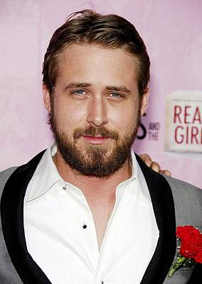 Ryan Gosling Photograph - Ryan Gosling At Arrivals For L.a by Everett