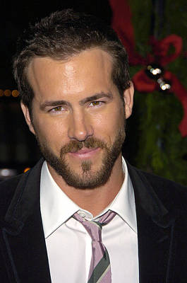 Ryan Reynolds At Arrivals For Just Art Print by Everett