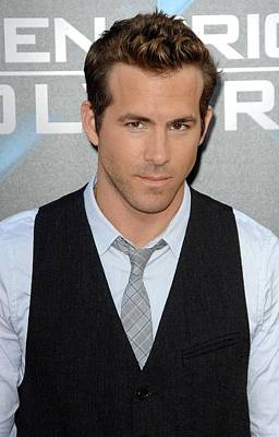Ryan Reynolds At Arrivals For L.a Art Print by Everett
