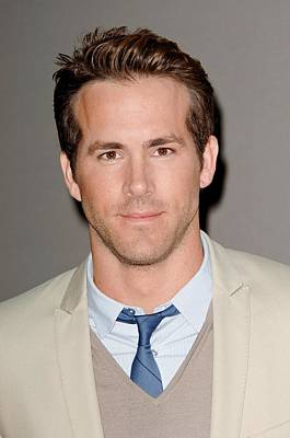 Ryan Reynolds At Arrivals For The Art Print