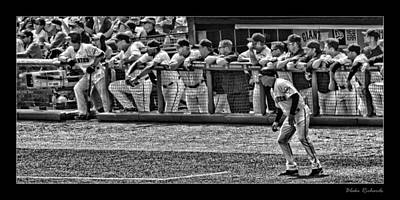 Photograph - Ryan Theriot Bruce Bochy Hensley Meulens Ron Wotus Tim Flannery Aubrey Huff Brandon Crawford Buster  by Blake Richards
