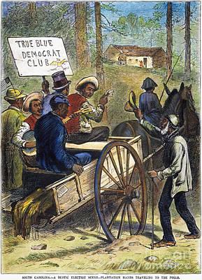 S. Carolina: Elections, 1876 Art Print by Granger