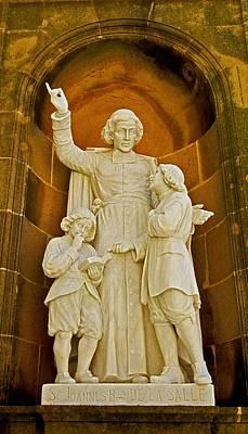 Photograph - S. Johannes De La Salle - Montserrat by Juergen Weiss
