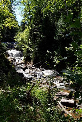 Photograph - Sable Falls Grand Marais Mi by Michelle Calkins