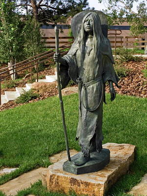 Leanin Tree Photograph - Sacajawea Sculpture by Sally Weigand