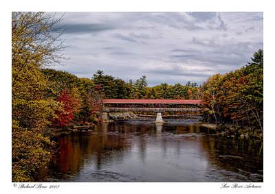 Art Print featuring the photograph Saco River Autumn by Richard Bean