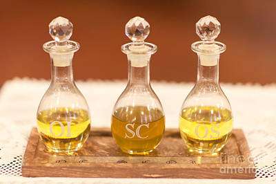 Photograph - Sacramental Oils by Clarence Holmes