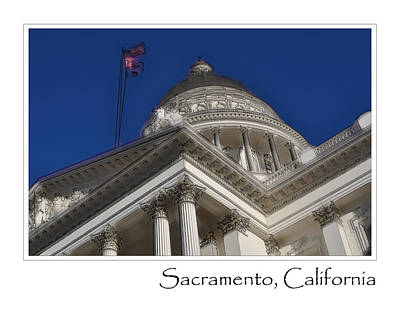 Digital Art - Sacramento by Brandon Bourdages
