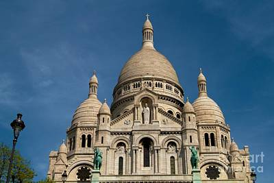 Sacre Coeur Cathedral Art Print by Kim Wilson