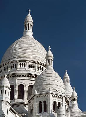 Sacre Coeur Photograph - Sacre Coeur, Close Up by Axiom Photographic