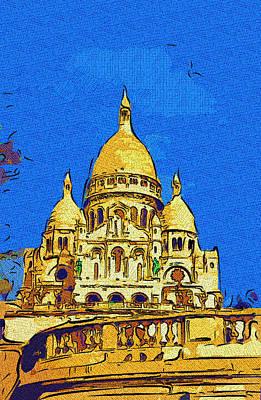 Sacre Coeur Digital Art - Sacre Coeur by Derrick Armitage