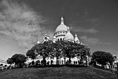 Photograph - Sacre Coeur by Eric Tressler