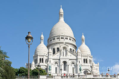 Basilica With Dome Photograph - Sacre Coeur II by Fabrizio Ruggeri