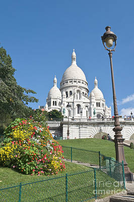 Basilica With Dome Photograph - Sacre Coeur IIi by Fabrizio Ruggeri