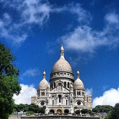 Icon Wall Art - Photograph - Sacre Coeur by Marce HH