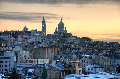 Sacre Coeur Photograph - Sacre Coeur, Paris by Richard Fairless