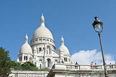 Basilica With Dome Photograph - Sacre Coeur V by Fabrizio Ruggeri