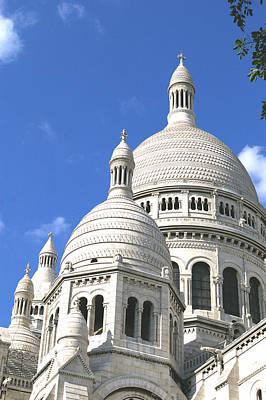 Sacre Coeur Photograph - Sacre Domes by Christine Burdine