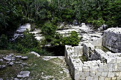 Photograph - Sacred Cenote by Ken Frischkorn