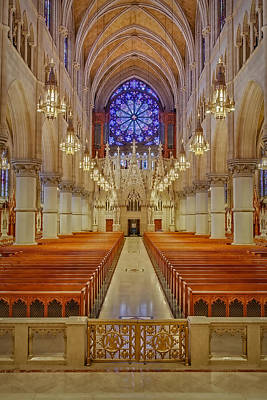 Chaste Photograph - Sacred Heart Cathedral Basilica by Susan Candelario