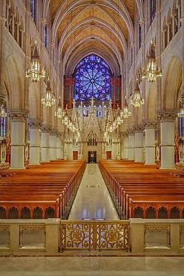 Sacred Heart Cathedral Basilica Art Print