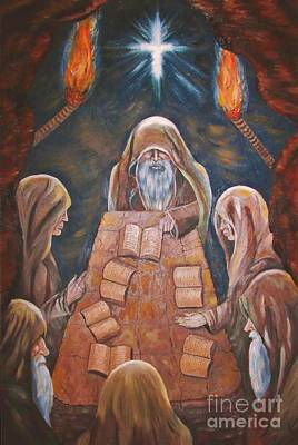 Painting - Sacred Tradition by Judy Via-Wolff