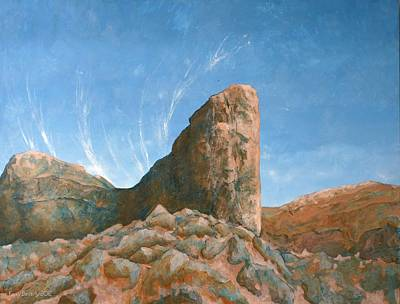 Painting - Sad Woman Canyon by Kerry Beverly