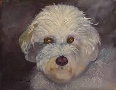 Art Print featuring the painting Sadie by Carol Berning