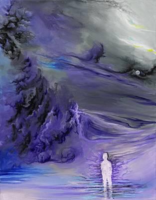 Painting - Sadness by David Junod