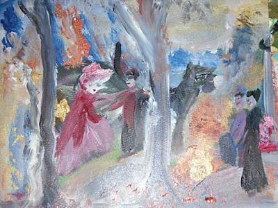 Safe Arrival Original by Judith Desrosiers