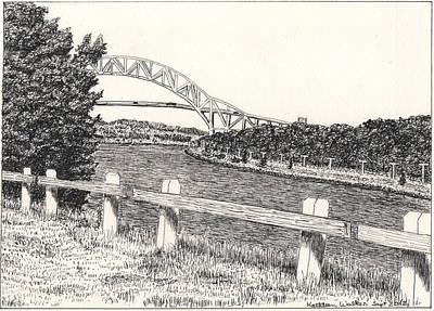 Sagamore Bridge Cape Cod Canal Original