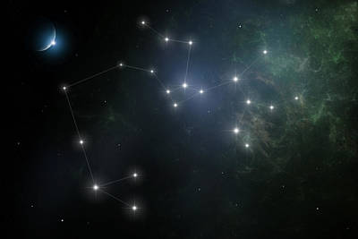 Digital Art - Sagittarius by Ian Merton