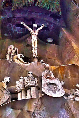 Sagrada Facade Art Print by Artistic Photos