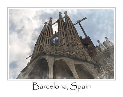 Photograph - Sagrada Familia Church by Brandon Bourdages