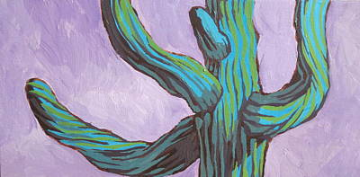Painting - Saguaro 11 by Sandy Tracey