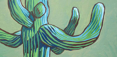 Painting - Saguaro 12 by Sandy Tracey