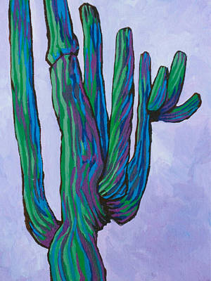 Painting - Saguaro 16 by Sandy Tracey