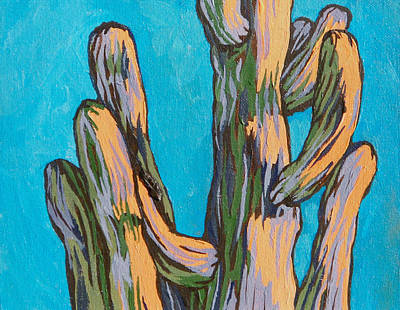 Painting - Saguaro 19 by Sandy Tracey
