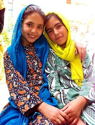 Photograph - Saheli by Fareeha Khawaja