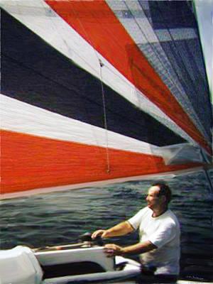 Sail Away Print by Walt Jackson