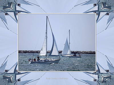 Photograph - Sailboats At Erie Basin Marina by Rose Santuci-Sofranko