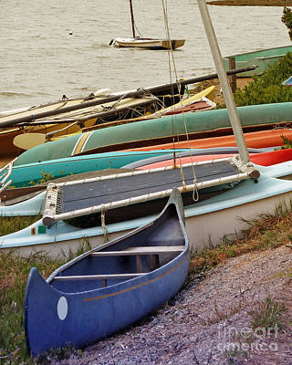 Photograph - Sailboats by Methune Hively