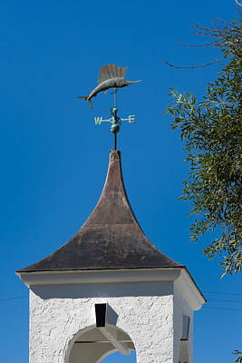 Katharine Hepburn - Sailfish Weather Vane at Palm Beach Shores by Ed Gleichman