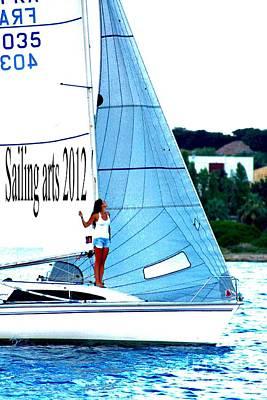 Sailing Arts Art Print by Rogerio Mariani